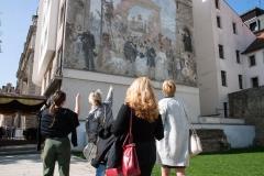 Prohlídka centra Plzně - zahraniční účastníci